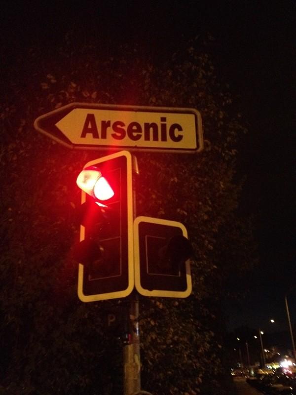 Arsenic, Lausanne (TT)