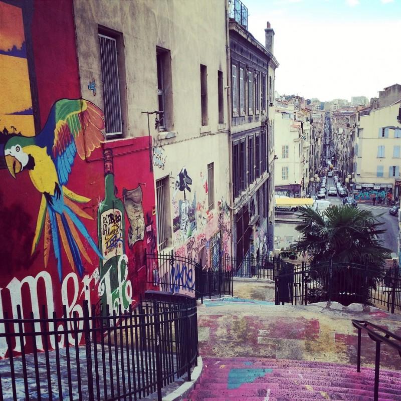 Marseille steps (RH)