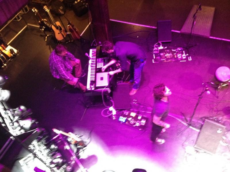 Soundcheck from above - Hamburg (TT)