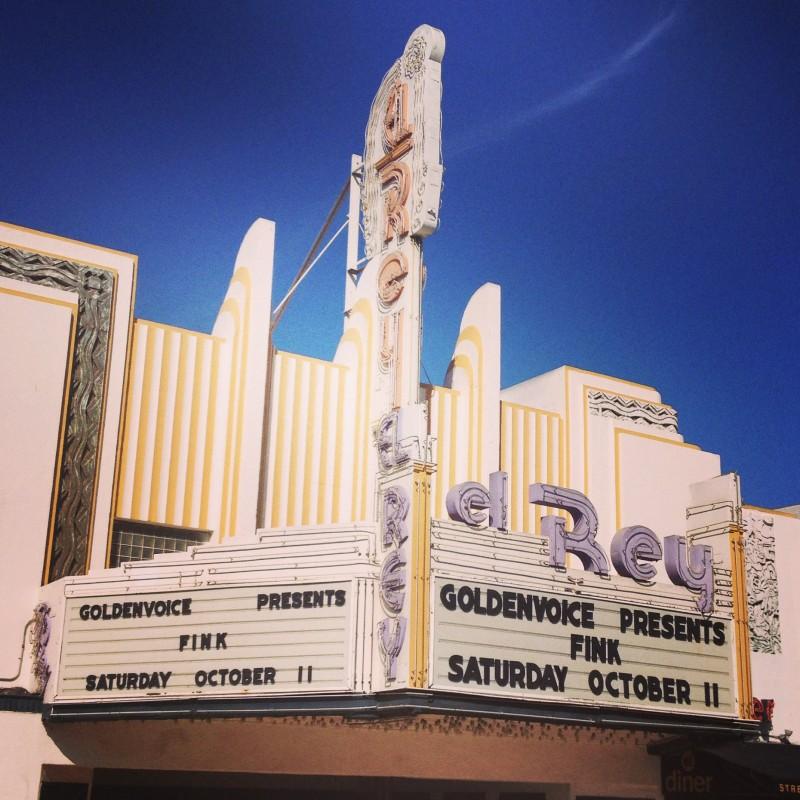 Our unassuming LA venue (TT)