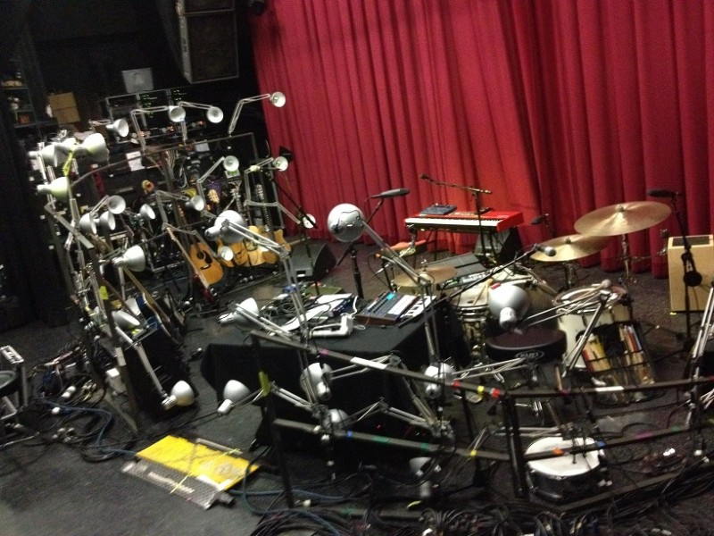 Final Lamposaurus set-up... for the moment - LA (TT)