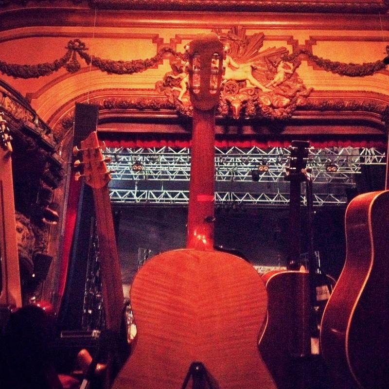 Nice venue, we'll take it... Paris (TT)