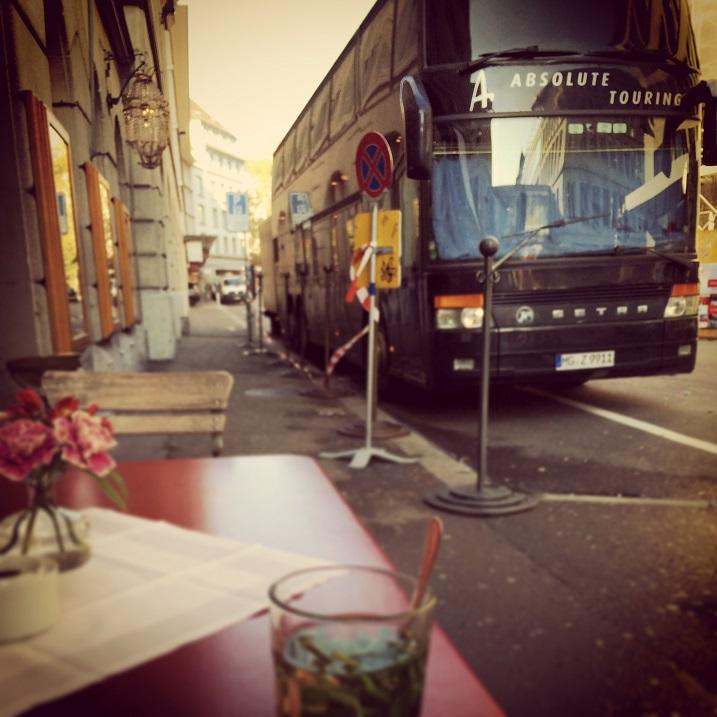 Romantic bus park - Zurich - (RH)