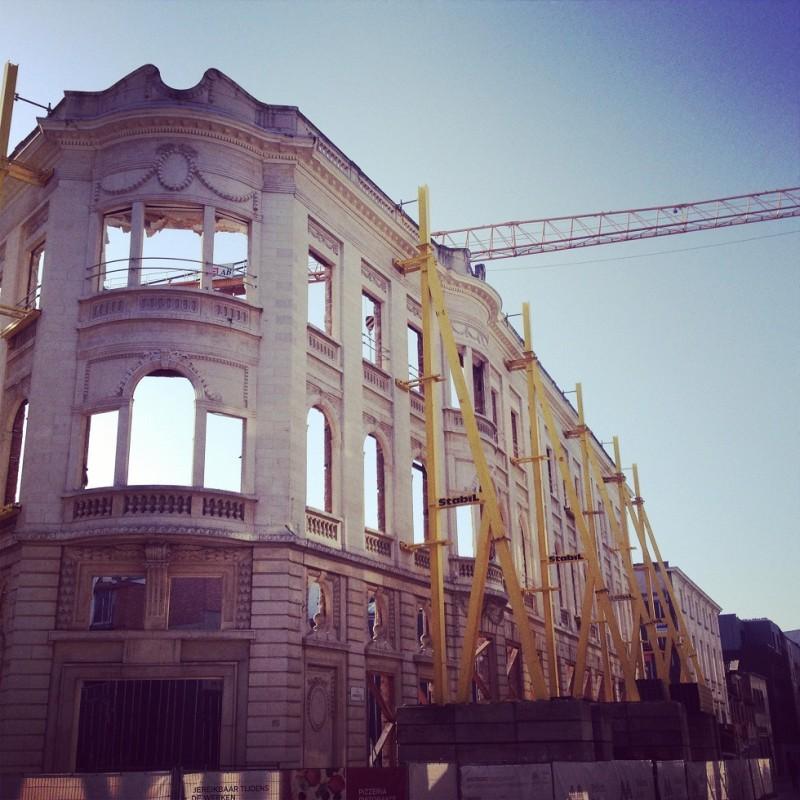The empty buildings of Gent (TT)
